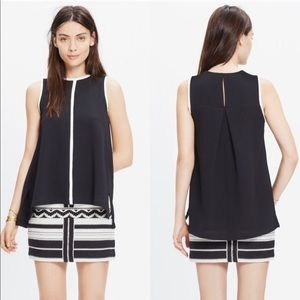 Madewell Crepe Canal Swing Tank Top T3208